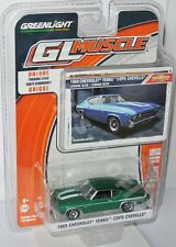 Greenlight GL Muscle - 1969 CHEVY YENKO COPO CHEVELLE - Green Machine - 1:64