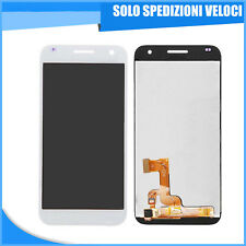 DISPLAY LCD TOUCH SCREEN VETRO VETRINO HUAWEI ASCEND G7 BIANCO WHITE RICAMBIO