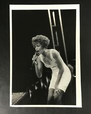 "Original 1991 Press Photo Whitney Houston Wire Music 10 x 7"" Vintage Summerfest"