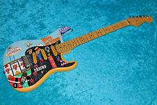 Vegas Hand Painted Fender American standard Stratocaster strat USA vintage desig