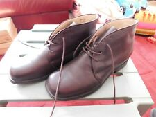 Women`s Clarks Lace Up Brown Soft Leather Ankle Boots, Size 7. Ex Condition.