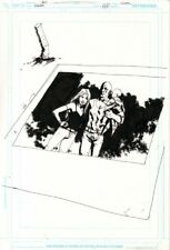 JOCK Scalped 42 Original Cover Art DC / Vertigo