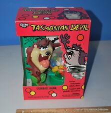Warner Brothers Tasmanian Devil Taz Gumball Dispenser Bank - New