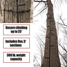 Tree Stand Climbing Sticks Hunting Ladder Deer Durable Steel Step Stick for Hang