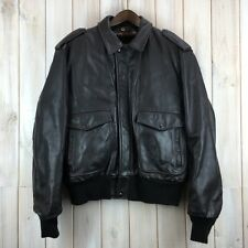 Vintage schott A-2 vachette cuir flying bomber jacket made in usa 46 xl/xxl