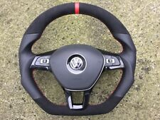 VW GTI GT R-LINE R32 CADDY POLO 6R TOURAN 5T0 NEW CUSTOM MADE STEERING WHEEL