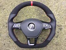 VW GTI GT R-LINE R32 CADDY POLO 6R TOURAN 5T0 NEW CUSTOM MADE STEERING WHEEL