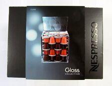 "New Nespresso ""Glass Collection"" CUBE HOLDER x Coffee Capsules Hazelnut Cubania"