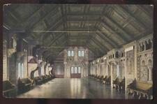 Postcard EISENACH GERMANY  Wartburg Castle Bankettsaal Interior view 1905?
