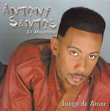 Santos, Antony : Juego De Amor CD