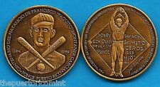 Medalla BRONCE 100aniv PAQUITO MONTANER PONCE 1994 Toletero Puerto Rico Baseball
