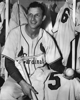 1954 St Louis Cardinals STAN MUSIAL 8x10 Photo 5 Home Run Day Print Baseball