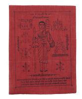 Yantra Pha Pra Yant Si Wa Lee Twins Amuleto Da Thailandia IN Tessuto Chance 6378