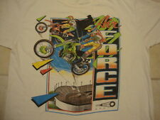Air Force Sprocket Motorcycle Motorcross Gear White T Shirt XL