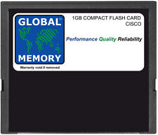 1GB COMPACT FLASH CARD MEMORY FOR CISCO 10000 ROUTERS PRE-3 ( MEM-10K-CPTFL1G )