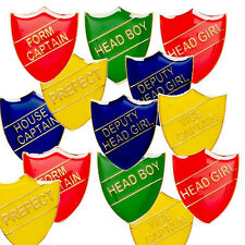 PREFECT CAPTAIN VICE CAPTAIN ACHIEVEMENT HEAD BOY HEAD GIRL SCHOOL SHIELD BADGE