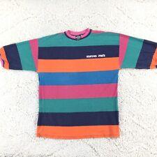 New listing Vintage 90's Eskimo Joes T Shirt Mens XL Color Block Striped Surf Skate Grunge