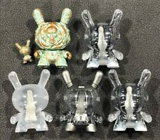 Kidrobot Dunny ARCANE DIVINATION lot of 5 CLEAR GHOST Chase JRYU
