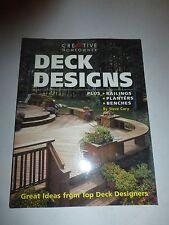 Deck Designs: Plus Railings, Planters, Benches, Cory, Steve, PB B54
