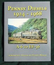 Pennsy Diesels 1924-1968 A-6 to EF-36 Kenneth Douglas NEW BOOK Hundman