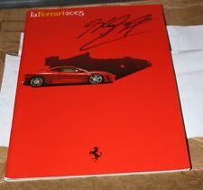 LA FERRARI 2005 bruchure published by Ferrari con autografo di SCHUMACHER