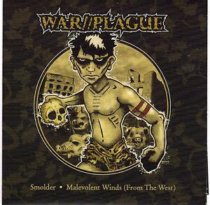 """War//Plague - Smolder 7"""" + insert"""