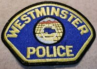 CA Westminster California Police Patch