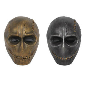 Airsoft Mask Full Face Skull Cosplay Halloween Make Up Party Mask