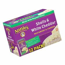 Annie's Macaroni and Cheese Shells & White Cheddar Mac and Cheese 6 oz Box (P...