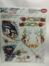 AMR Racing Graphics Decal Wrap Kit Sale For KTM XR 50 00-03 ED HRDY LOV KLS