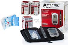 Accu Chek Performa 110 Test Strips Glucometer Tester Monitor Kit Softclix Lancet