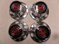 FULL SET 4NOS 80-89 Bronco F-100 F-150 CENTER HUB CAP E2TZ-1130-C, FOTA-1A097-AA