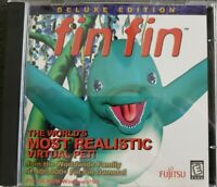 Fin Fin Deluxe Edition (PC-CD-ROM 2 Disc Game 1997 Fujitsu) Rare HTF OOP VGC