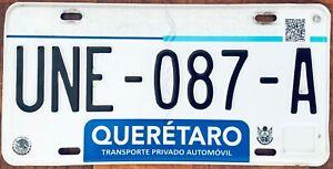 QUERETARO MEXICO License plate Expired Graphic Background  !!!