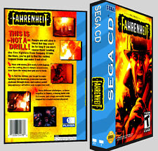 Fahrenheit - Sega CD Reproduction Art DVD Case No Game