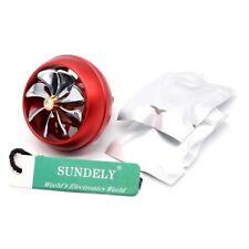 Hi-Q Red Car Air Conditioner Outlet Vent Clip Air Freshener Turbofan-Shape