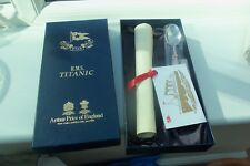 TITANIC - WHITE STAR LINE SET, HAND SIGNED BY MILLVINA DEAN