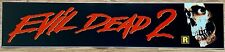 ✨ Evil Dead 2 (1987) - Bruce Campbell - Movie Theater Mylar / Poster - 5x25