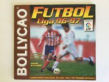 Álbum Bollycao Fútbol Liga 96-97 LFP incompleto 81 cromos