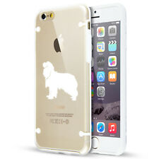 For iPhone SE 6 6s 7 8 Plus Clear TPU Hard Case Cavalier King Charles Spaniel