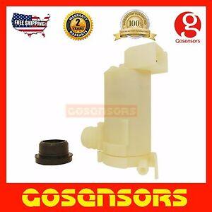 Windshield Washer Pump with GROMMET for Nissan Honda Chevrolet Geo Mercury ISUZU