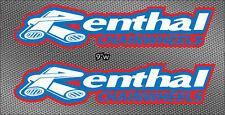 "2x 9"" Renthal Shroud Swingarm Bike Truck Decals MX Sticker Graphics"