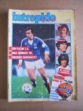 INTREPIDO n°21 1982 Michel Platini - Inserto Mundial 82 3° Gruppo  [G492]