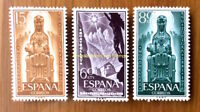 EBS Spain España 1956 Anniversary of Black Virgin of Montserrat 1089-1091 MNH**