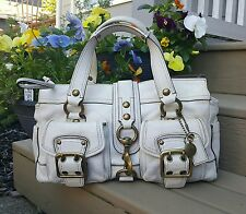 COACH LEGACY MANDY SATCHEL 65TH ANNIVERSARY - CREAM VACHETTA LEATHER