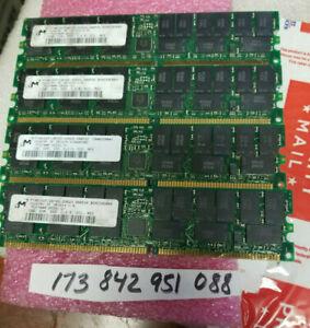 SERVER RAM 4GB KIT 4X 1GB DDR1 DDR PC 2700 CL2.5  PC2700R 333 184PIN ECC REG