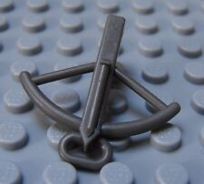 NEW Lego Minifig Gray CROSSBOW Castle Knights Arrow Cross Bow Weapons