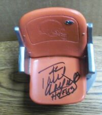 Paul Warfield Signed, Cleveland Browns Replica Seat, Season Ticket Holder