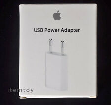 Original Apple USB Power Adapter AC Wall Eu Charger For iPhone 5s 5c 4s 4 A1300