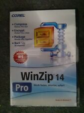 COREL WINZIP PRO V14 DVD WITH KEY READY FOR WIN 7, 8 10